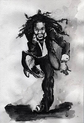 Drawing - Glover by Howard Barry