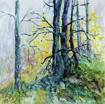 Painting - Glow From The Tamarack by Joanne Smoley