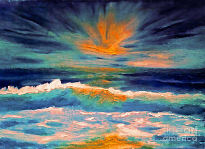 Painting - Glow by Holly Martinson