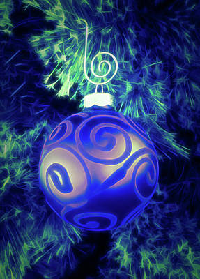 Photograph - Glow In The Dark Christmas Ornament by Aimee L Maher Photography and Art Visit ALMGallerydotcom