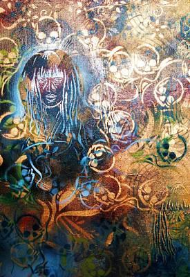 Glow In The Dark Art Print by Dorian Williams