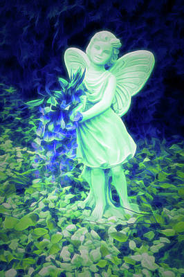Photograph - Glow In The Dark Fairy  by Aimee L Maher Photography and Art Visit ALMGallerydotcom