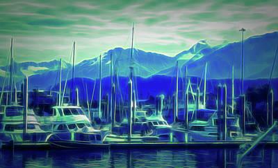 Photograph - Glow In The Dark Seward Alaska 2 by Aimee L Maher Photography and Art Visit ALMGallerydotcom