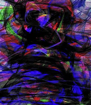 Digital Art - 'glow Light' by Kristalin Davis