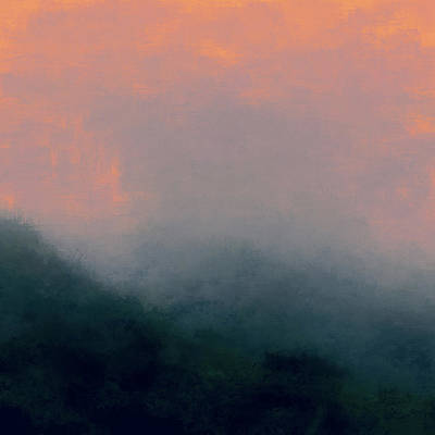 Abstract Landscape Royalty-Free and Rights-Managed Images - Glow by Lonnie Christopher
