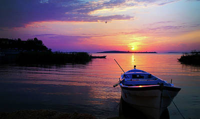Photograph - Glow Of Sunset by Lilia D