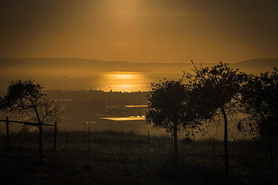 San Leandro Photograph - Glow On The Bay by Laura Macky