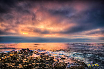 Photograph - Glow Over The Pacific by Rikk Flohr