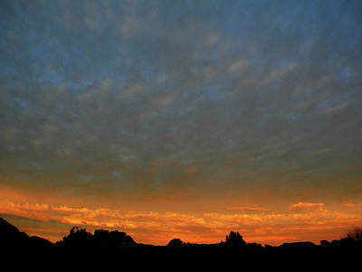 Photograph - Glow Sunset by Mark Blauhoefer