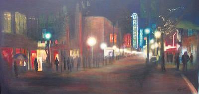 Glow Art Print by Victoria Heryet
