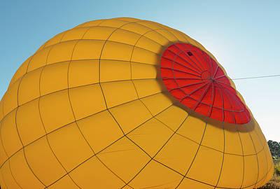 Photograph - Glowing Balloon by Loree Johnson