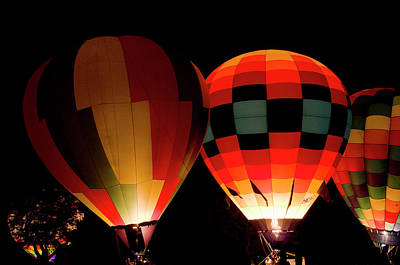 Photograph - Glowing Balloons by Shelly Gunderson