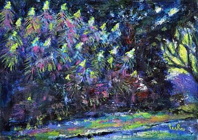 Painting - Glowing Bloom by Usha Shantharam