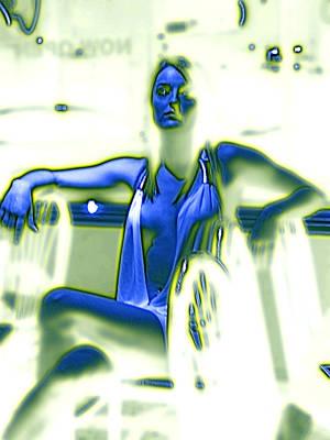 Digital Art - Glowing Brittney II by James Granberry