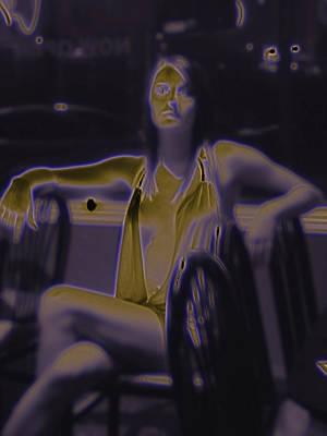 Digital Art - Glowing Brittney IIi by James Granberry