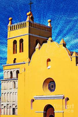 Photograph - Glowing Church In Guatemala by Tatiana Travelways