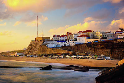 Photograph - Glowing Ericeira by Marion McCristall