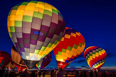 Photograph - Glowing Fiesta by Ron Pate