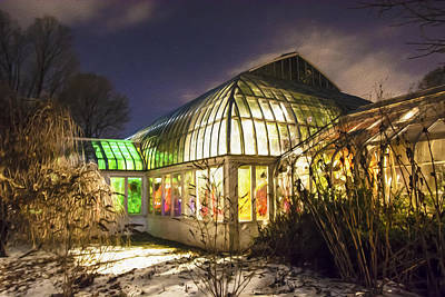 Lamberton Conservatory Photograph - Glowing From Within by Tracy Winter