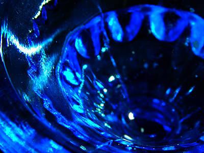 Glowing Glass Beauty Art Print