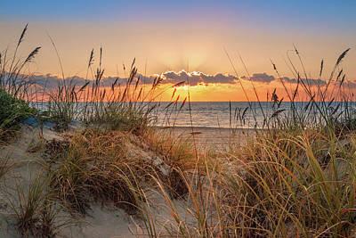Photograph - Glowing In The Dunes by Debra and Dave Vanderlaan