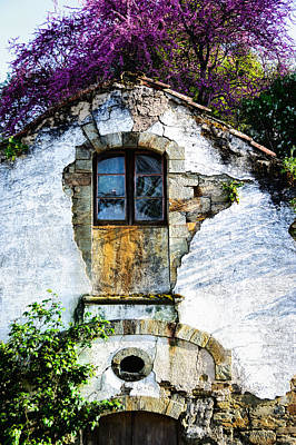Art Print featuring the photograph Glowing Old Window In Portugal by Marion McCristall