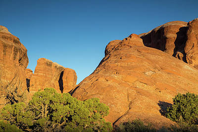 Photograph - Glowing Sandstone by Kunal Mehra