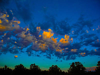 Photograph - Glowing Sunrise by Mark Blauhoefer