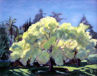 Glowing Tree Art Print by Richard  Willson