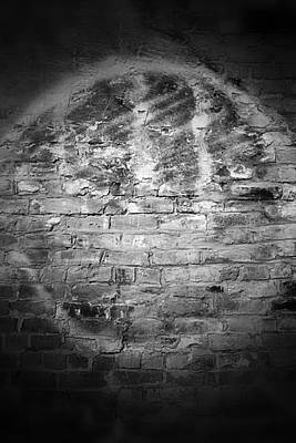 Photograph - Enso On Brick Wall by Nadalyn Larsen