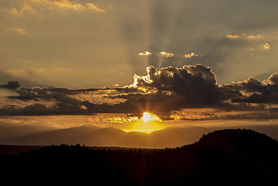 Photograph - Glowing White Mountain Sunrise  by Duncan Selby