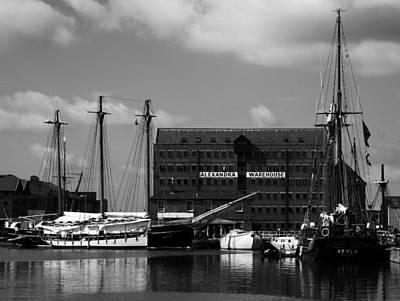 Photograph - Gloucester Warehouse 2 by Lexa Harpell