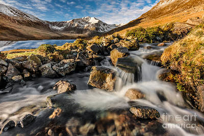 Photograph - Glyder Fawr Mountains by Adrian Evans