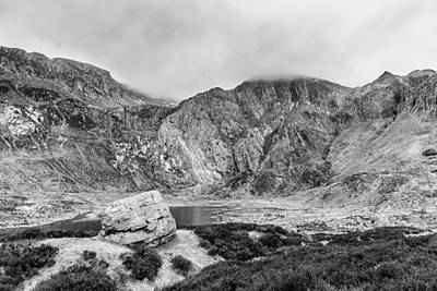 Photograph - Glyder Fawr by Nick Bywater