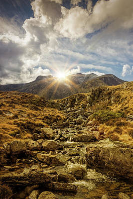 Photograph - Glyder Fawr Sunrise by Ian Mitchell