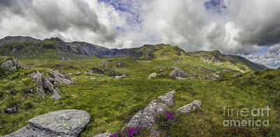 Photograph - Glyderau Mountain Rage by Ian Mitchell