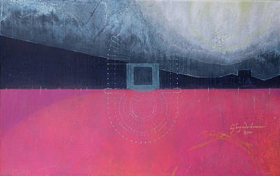 Abstractions Painting - Glyndebourne by Charlie Millar