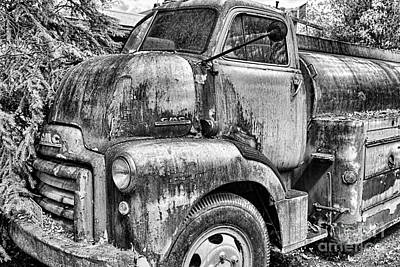 Photograph - Gmc Black And White by David Arment