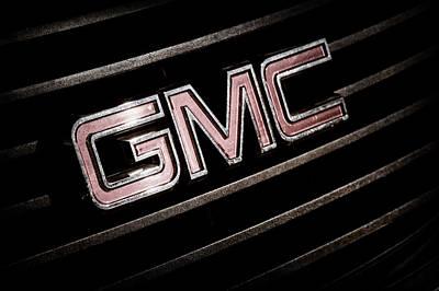 Photograph - Gmc Emblem - 1634ac by Jill Reger