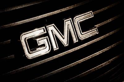 Photograph - Gmc Emblem - 1634s by Jill Reger