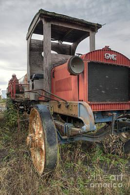 Photograph - Gmc Milk Truck  by Joann Long