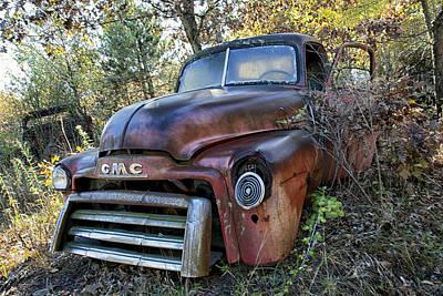 Photograph - Gmc Truck by CA  Johnson