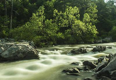 Photograph - Millstream Gardens White Water by Garry McMichael