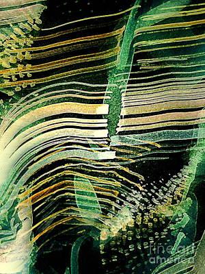 Painting - Gmo Corn by Nancy Kane Chapman