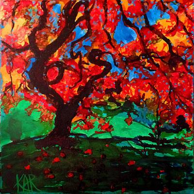 Gnarly Tree Original by Art by Kar
