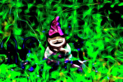 Photograph - Gnome by Gina O'Brien
