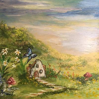 Painting - Gnome Home by Karen Ferrand Carroll