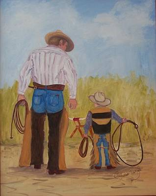 Painting - Go Ahead, Give It A Try by Patricia Voelz