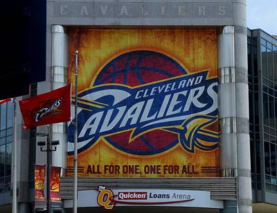 Photograph - Go Cleveland Cavaliers by Michiale Schneider