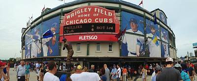 Photograph - Go Cubs Go by Bruce Bley